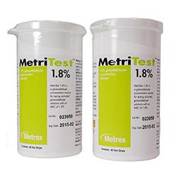 MetriTest Test Strips- 2 bottles/ 60 strips ea. 10-304