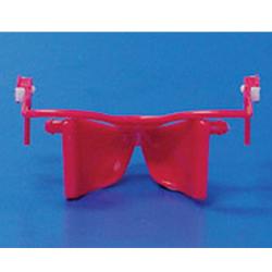 NOLA SMALL TONGUE GUARDS RED 300-413