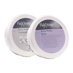 FLEXITIME EASY PUTTY SINGLE x600 ML (1-CAT, 1-BASE) 50034802