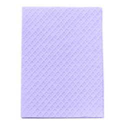 POLY TOWEL 2-PLY LAVENDER 13x18 919459