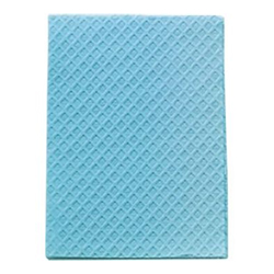 POLY TOWEL 2-PLY BLUE 13x18 919463