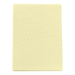 POLY TOWEL 2-PLY YELLOW 13x18 919464