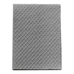 POLY TOWEL 2-PLY GRAY 13x18 919465