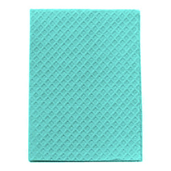 POLY TOWEL 2-PLY TEAL 13x18 919470