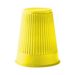 PLASTIC CUP 5 OZ YELLOW 9214