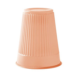 PLASTIC CUP 5 OZ PEACH 9218