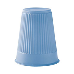 PLASTIC CUP 3.5 OZ BLUE 9243