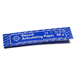 """BAUSCH OCCLUSIONSPAPIER 4""""x3/4"""" BK-09"""