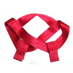 RED HI PULL NYLON LARGE HEADCAP HPLRD5