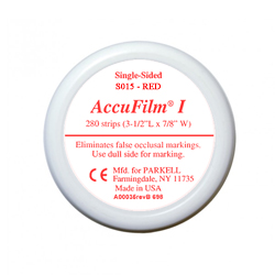 ACCUFILM I SINGLE SIDE RED S015