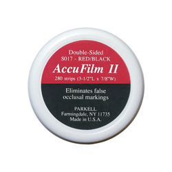 ACCUFILM II DOUBLE SIDED RED/BLACK S017