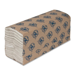 "C-FOLD TOWELS WHITE 10.25"" x 13"" 1PLY SPC01095"